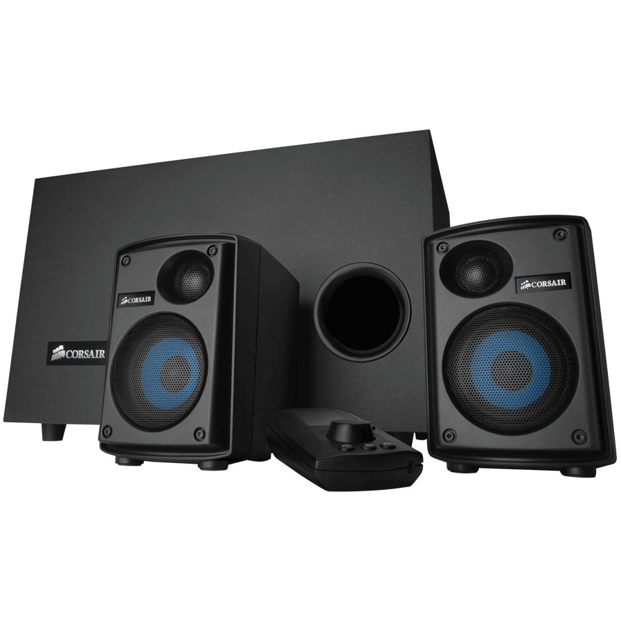 418-525 - Corsair Gaming Audio Series SP2500 High-Power 2.1 PC Speaker System