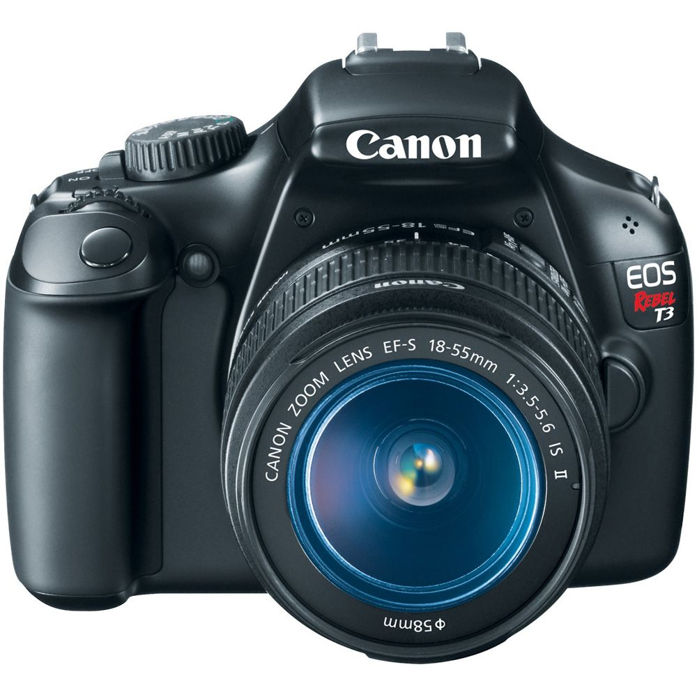 418-548 - Canon EOS Rebel T3 12MP Digital SLR Camera