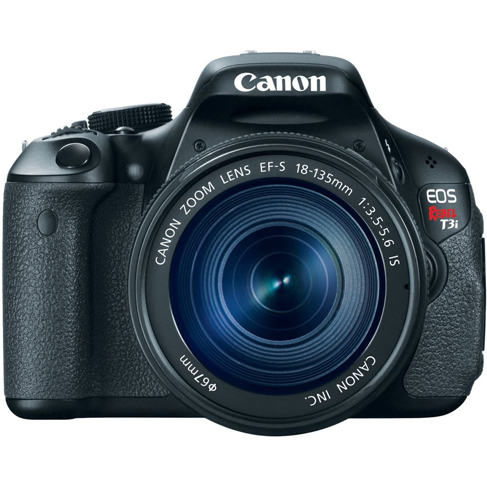 418-552 -  Canon EOS Rebel T3i 18MP Digital SLR Camera w/ EF-S 18-135mm f/3.5-5.6 IS Type II Lens