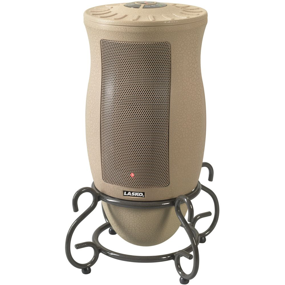 418-611 - Lasko 6435 Designer Series Oscillating Ceramic Heater w/ Remote Control