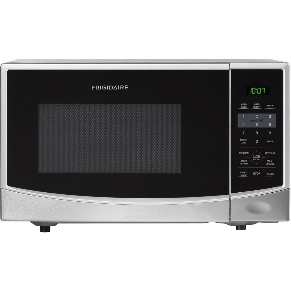 418-646 - Frigidaire Stainless Steel 0.9 Cu. Ft. Countertop Microwave Oven