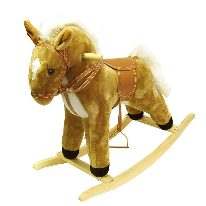418-774 - Happy Trails™ Plush Horse Rocking Animal
