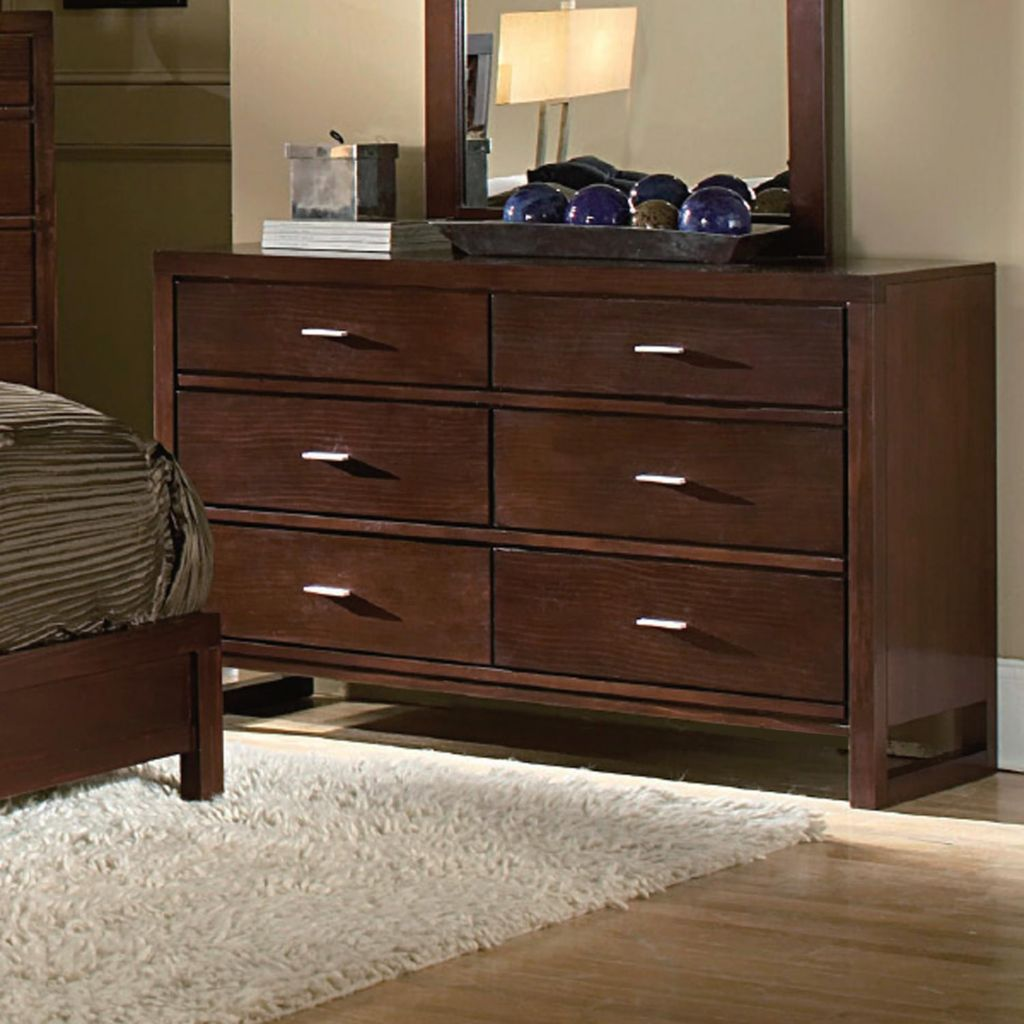 418-885 - Six Drawer Dresser