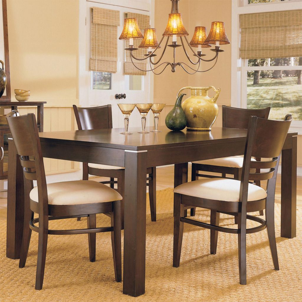 418-973 - Five-Piece Espresso Dining Set