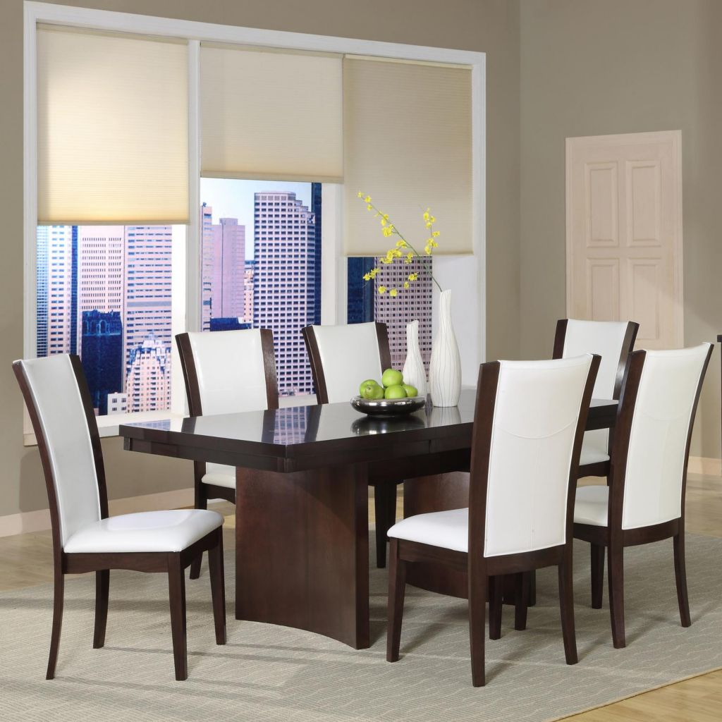 418-983 - Seven Piece Dining Table & Side Chair Set
