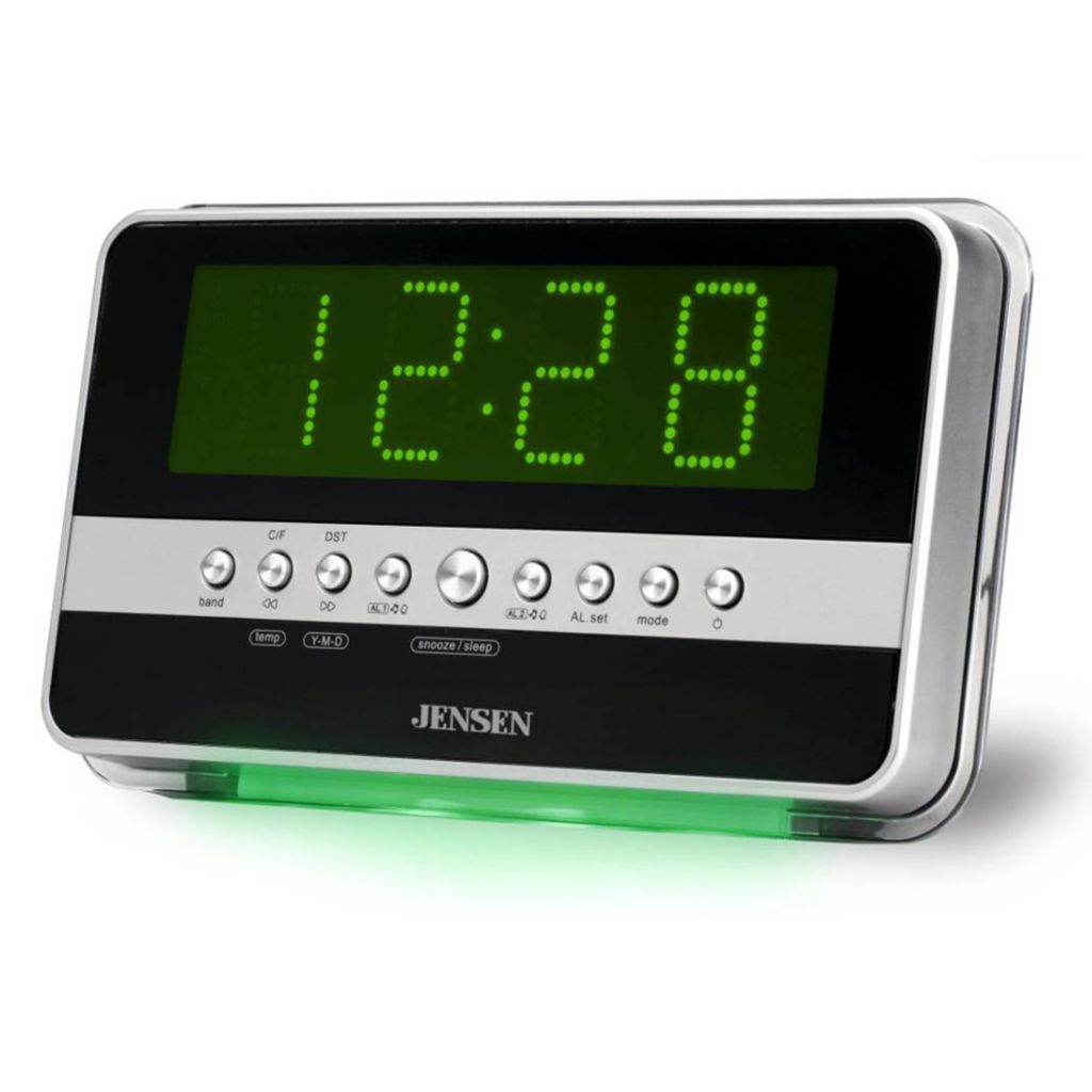 420-151 - Jensen JCR-275 AM/FM Wavesensor Alarm Clock Radio