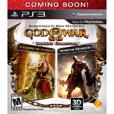 421-377 - God of War: Origins Collection PlayStation 3 Game
