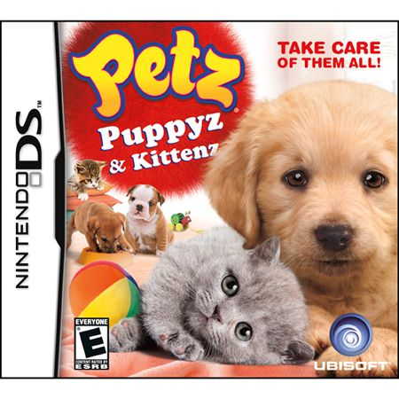 421-398 - Petz Puppyz & Kittenz Nintendo DS Game