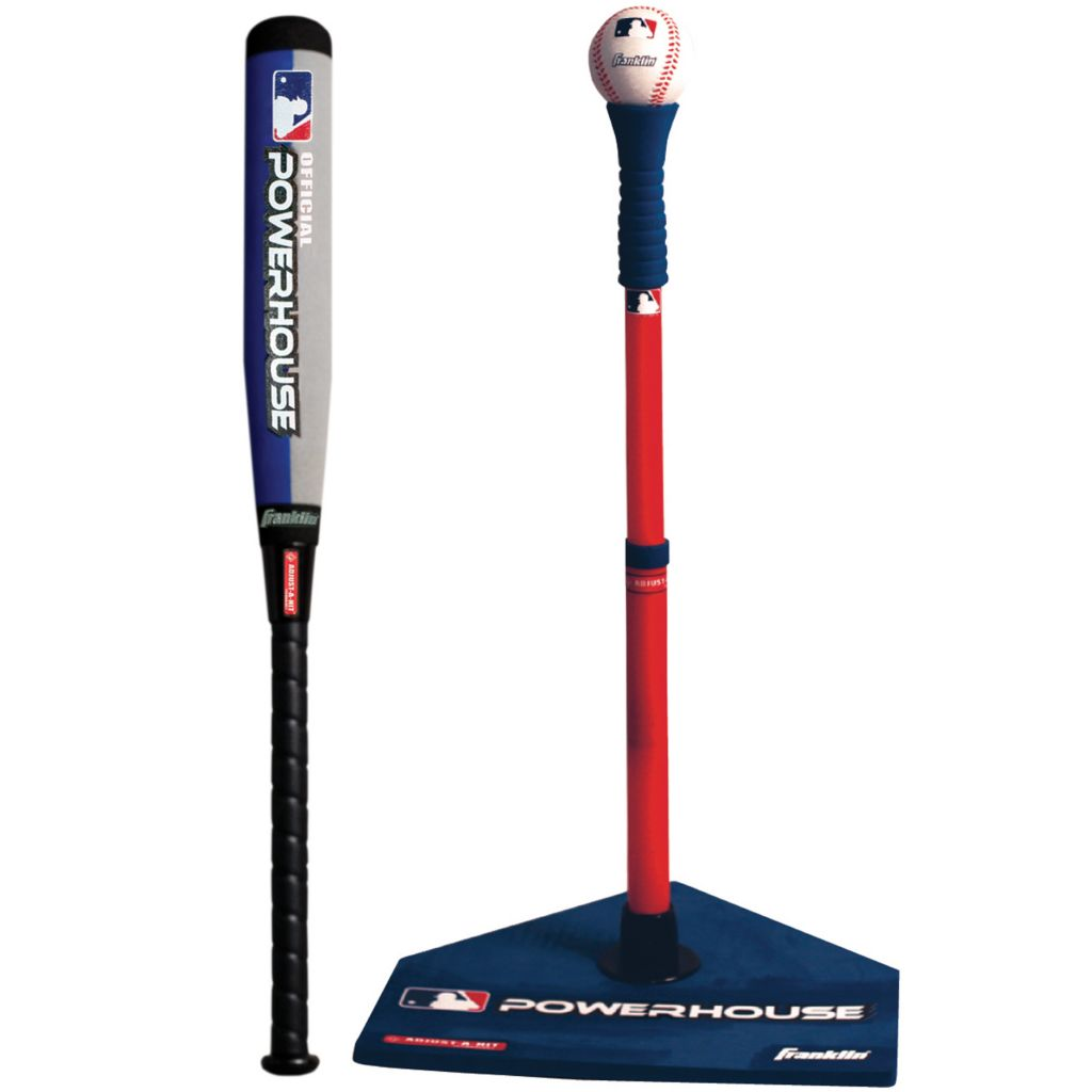 421-719 - Franklin MLB Powerhouse Adjust-A-Hit Tee Ball Set
