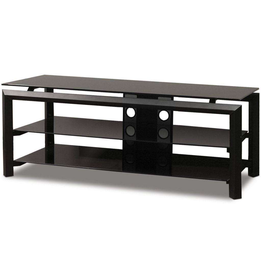 "421-769 - TechCraft 52"" Black Finish Television Stand"