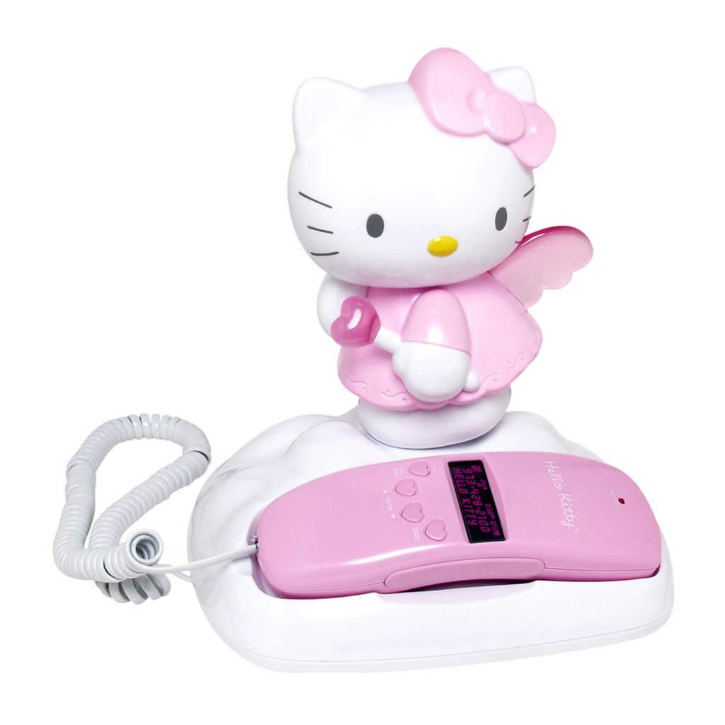 421-897 - Hello Kitty® Caller ID and Memory Telephone