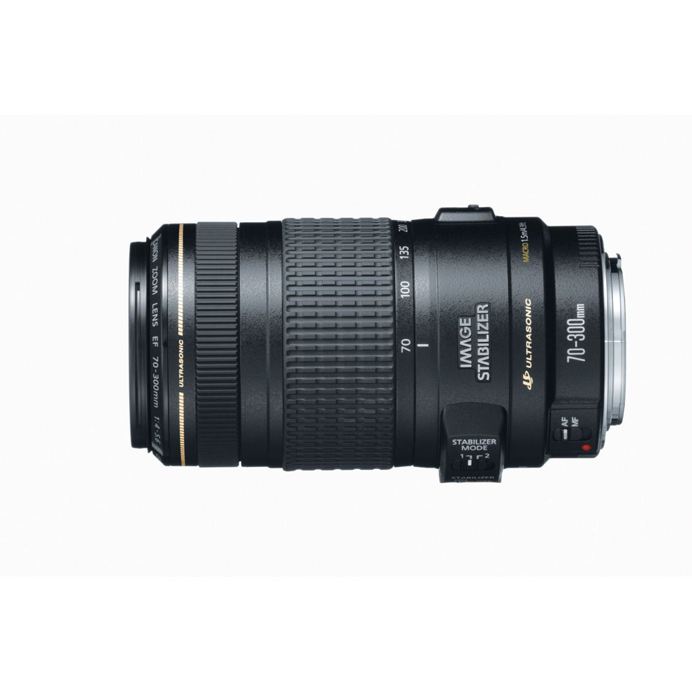 422-133 - Canon 0345B002 EF 70-300mm f/4-5.6 IS USM Telephoto Zoom Lens