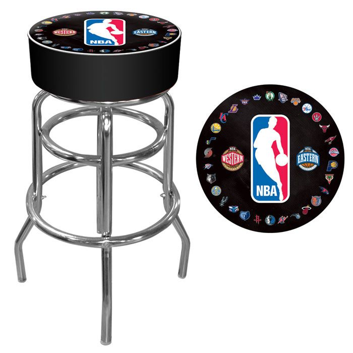 422-765 - NBA Padded Swivel Bar Stool