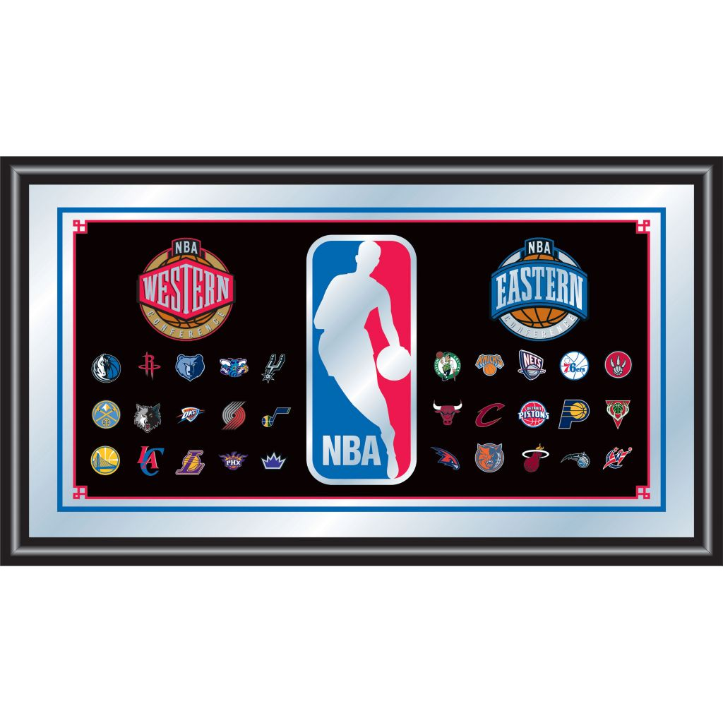 422-774 - NBA Framed Logo Mirror