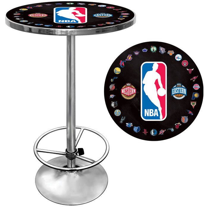 422-775 - NBA Chrome Pub Table