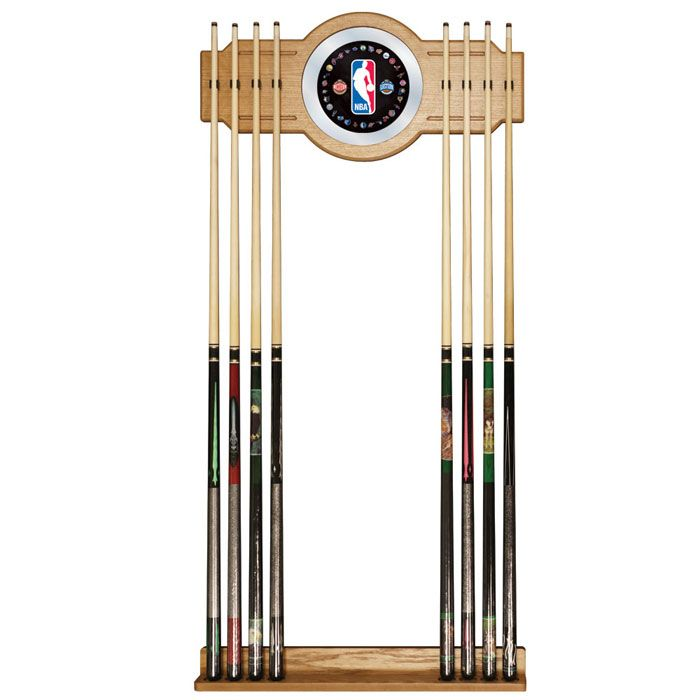 422-778 - NBA Billiard Cue Rack with Mirror