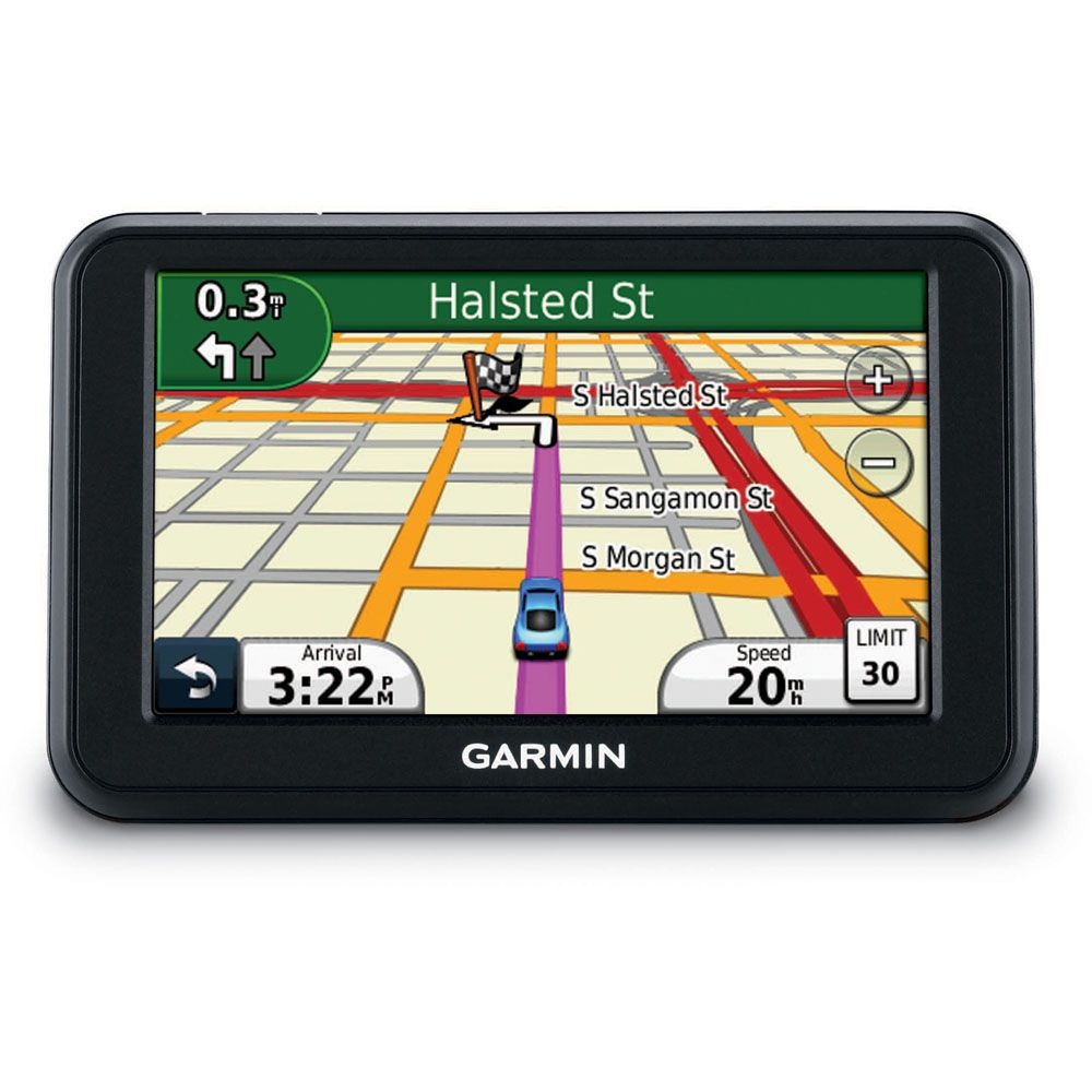 "422-972 - Garmin nüvi 40 4.3"" GPS Navigator w/ 48 State Map Coverage & Lane Assist"