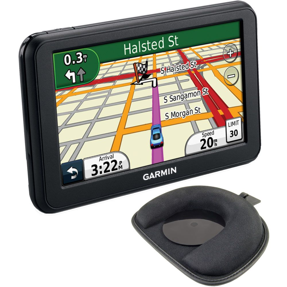 "422-973 - Garmin NUVI40-2 KIT nüvi 40 4.3"" GPS Navigator w/ Portable Friction Dash Mount"