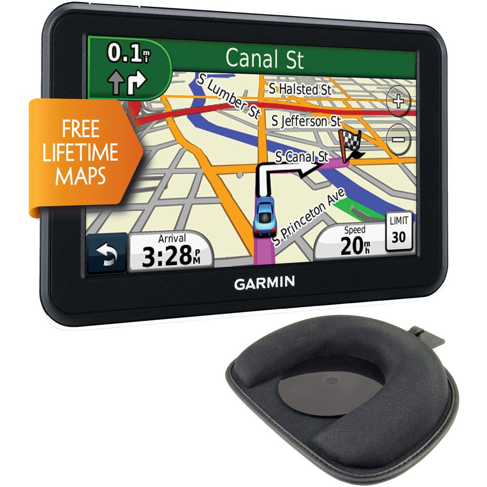 "422-978 - Garmin nüvi NUVI50LM-2 KIT 5"" GPS Navigator w/ US Map Coverage, Lifetime Updates & Dash Mount"