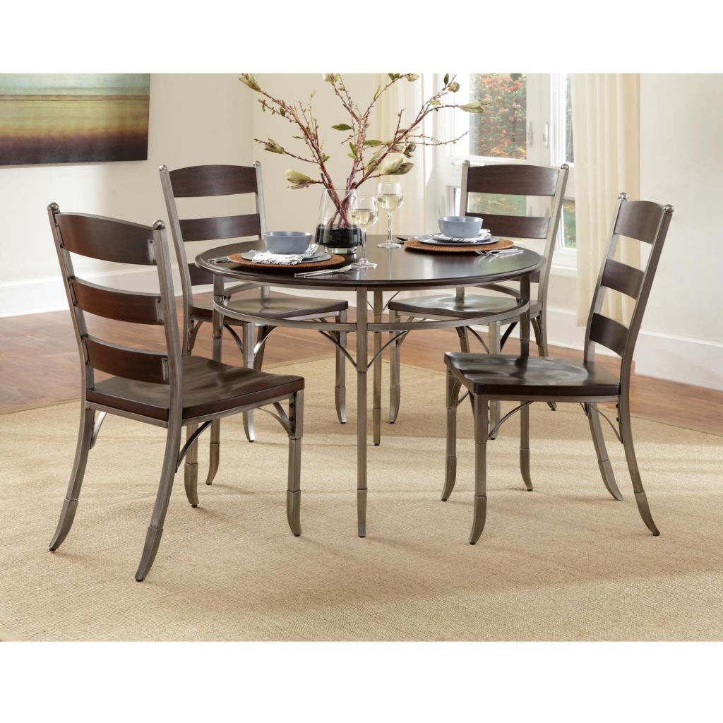 423-063 - Home Styles Bordeaux Five-Piece Dining Set