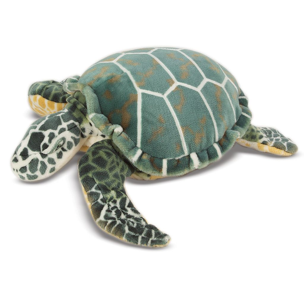 423-203 - Melissa & Doug® Plush Sea Turtle