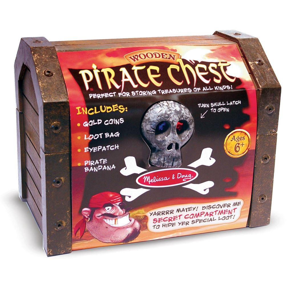 423-211 - Melissa & Doug® Pirate Chest