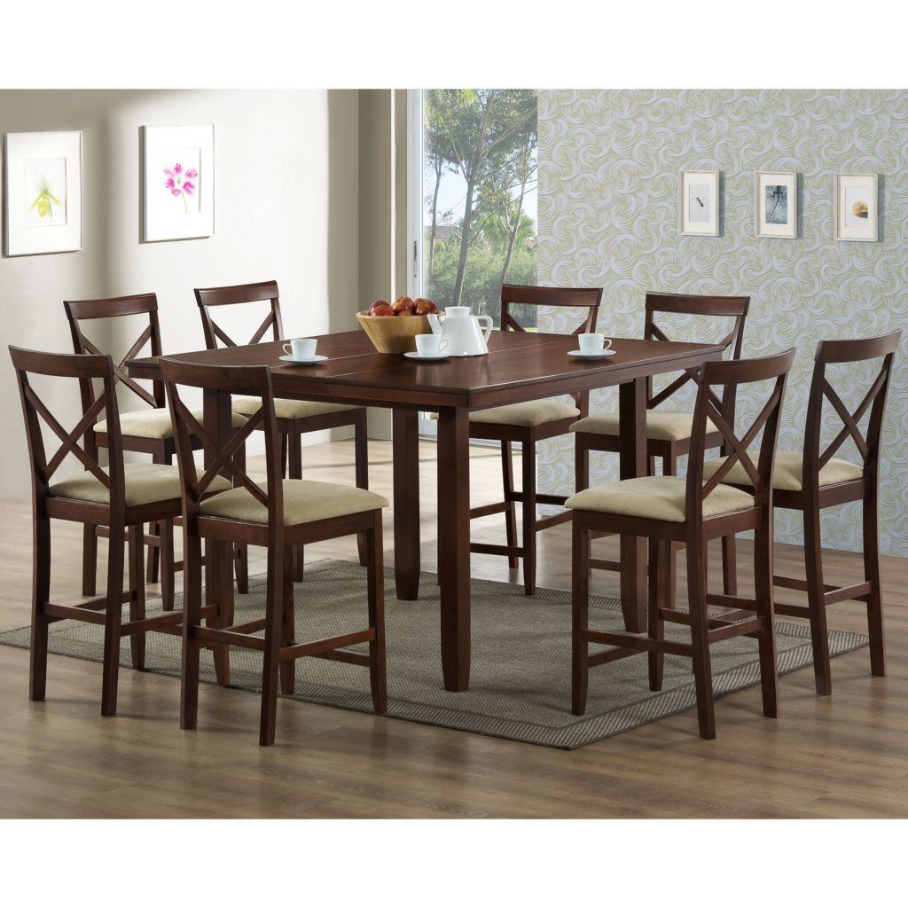 423-272 - Natalie Modern Dining Table & Chair - Five Piece Set