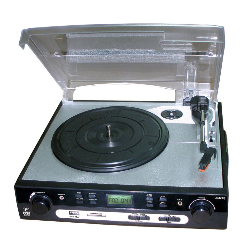 423-426 -  Pyle PLTTB9U USB Turntable