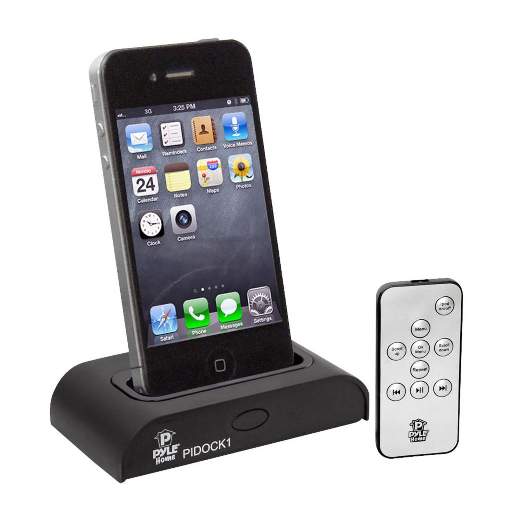 423-478 - Pyle PIDOCK1 Universal iPod/iPhone Docking Station for Audio Output Charging