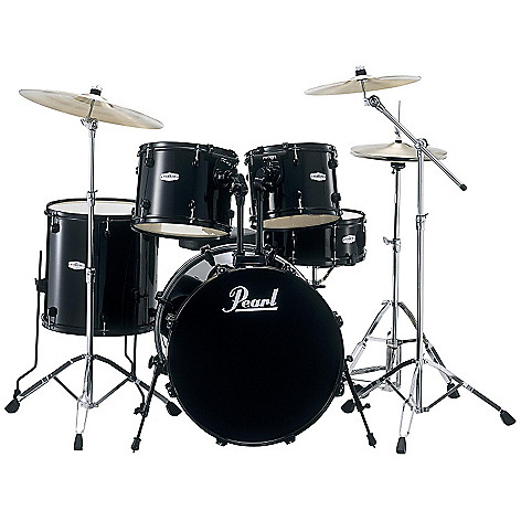 423-581 - Pearl Forum Five-Piece Drum Set w/ Hardware & Cymbals