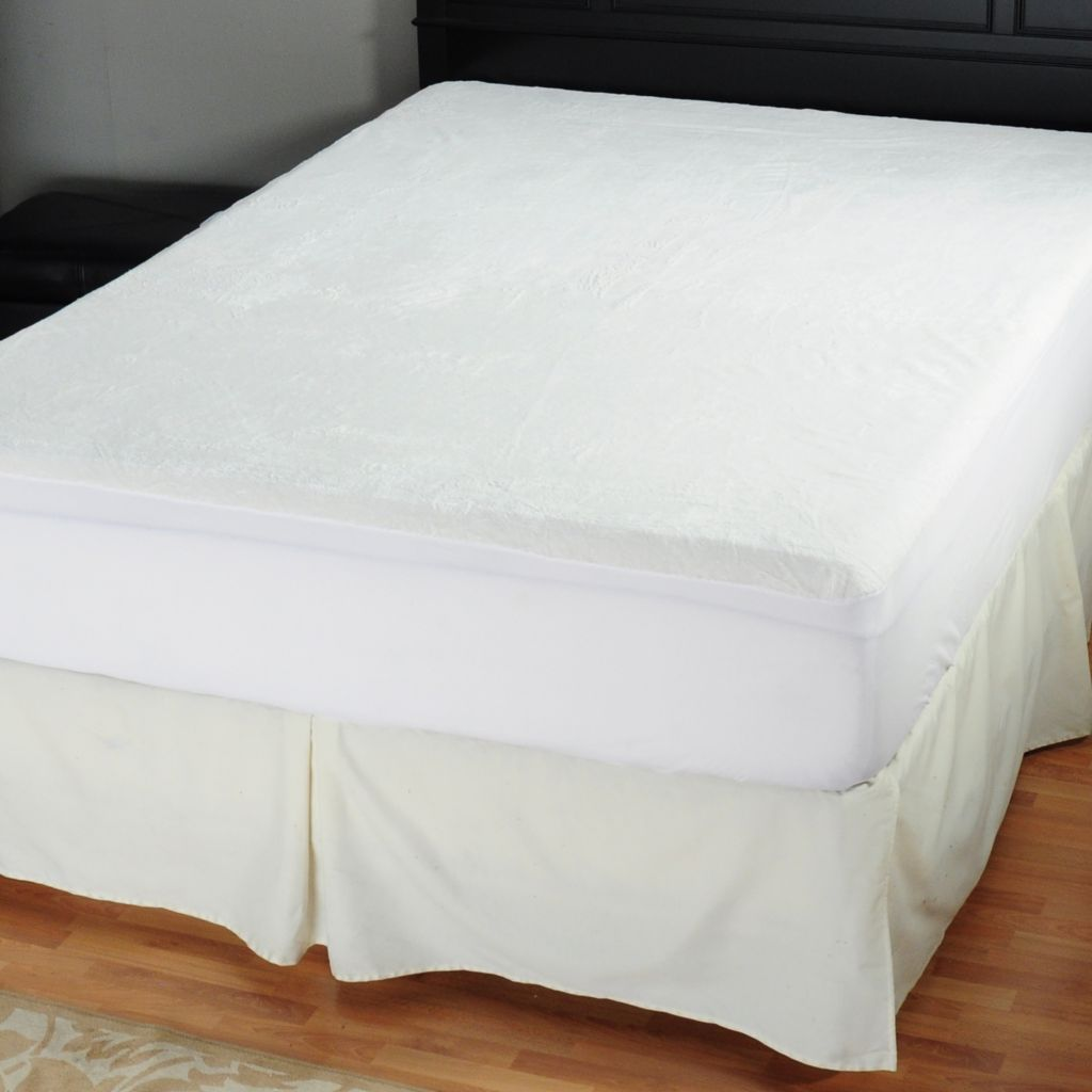 425-540 - Protect-A-Bed® Super Soft Velour Plush Mattress Protector