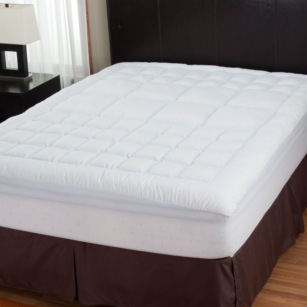 429-131 - Cozelle® 200TC Cotton Zoned Mattress Topper w/ Nano-Tex® Stain Release