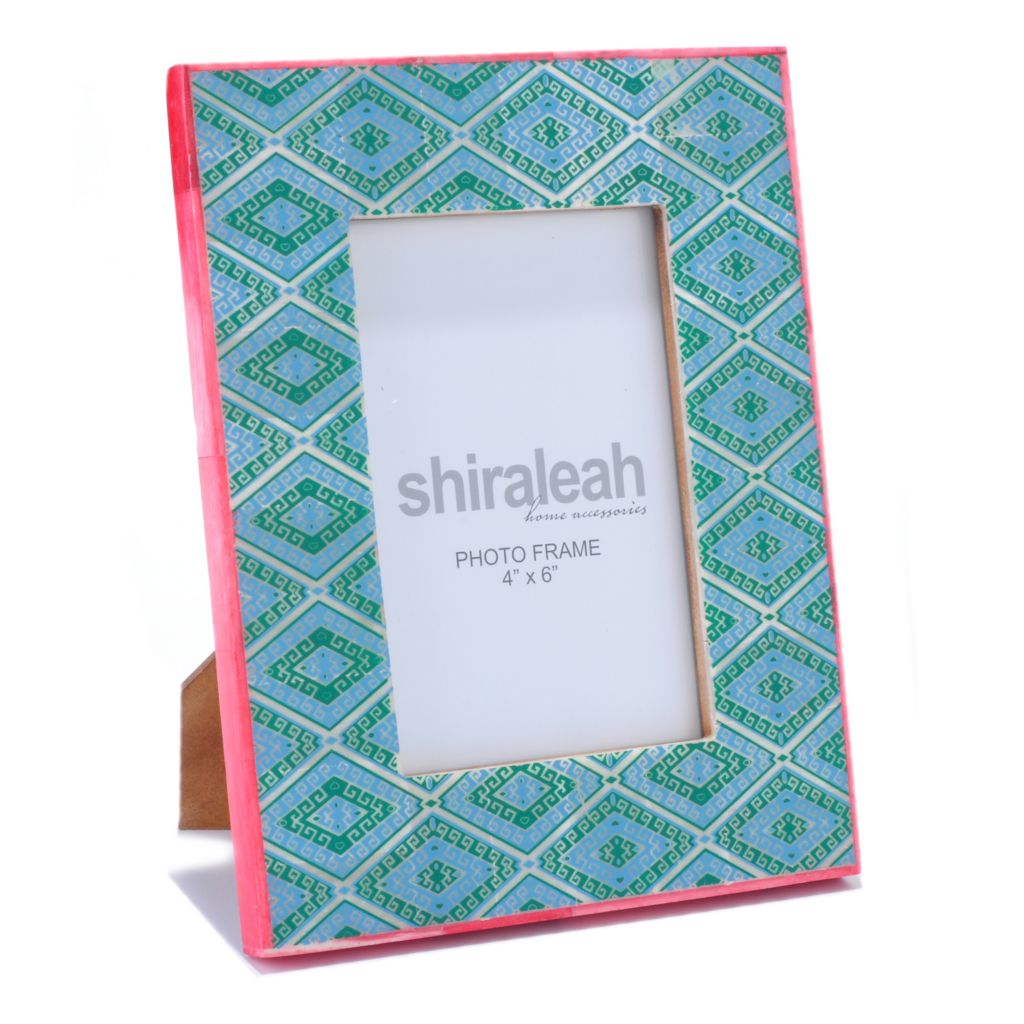 "429-222 - Shiraleah 4"" x 6"" Hand-Painted Picture Frame"