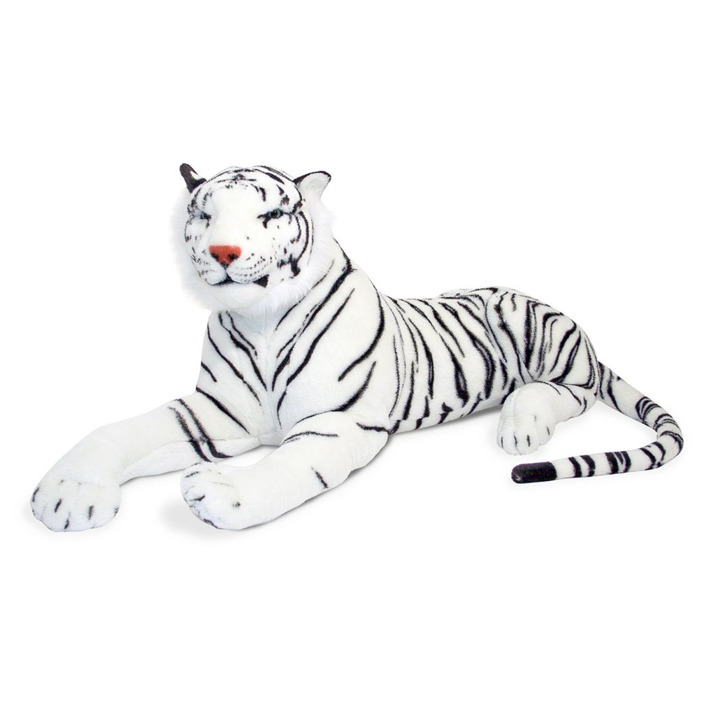 429-471 - Melissa & Doug® White Tiger - Plush