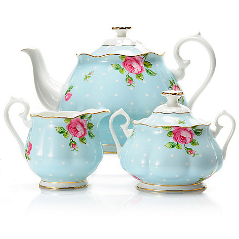 429-796 - Royal Albert® Three-Piece Porcelain Tea Service Set