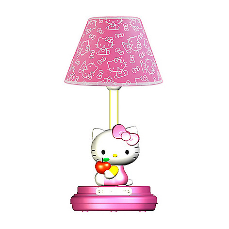 hello kitty table lamp. Black Bedroom Furniture Sets. Home Design Ideas