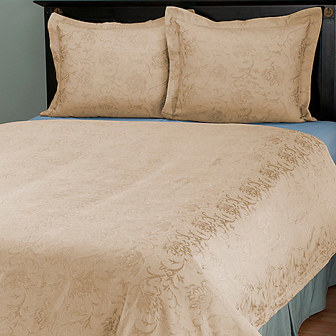 429-866 - Cozelle® ''Limoges'' European Jacquard Three-Piece Coverlet Set