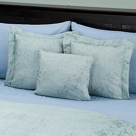 429-873 - Cozelle™ ''Limoges'' European Jacquard Set of Three Decorative Pillows