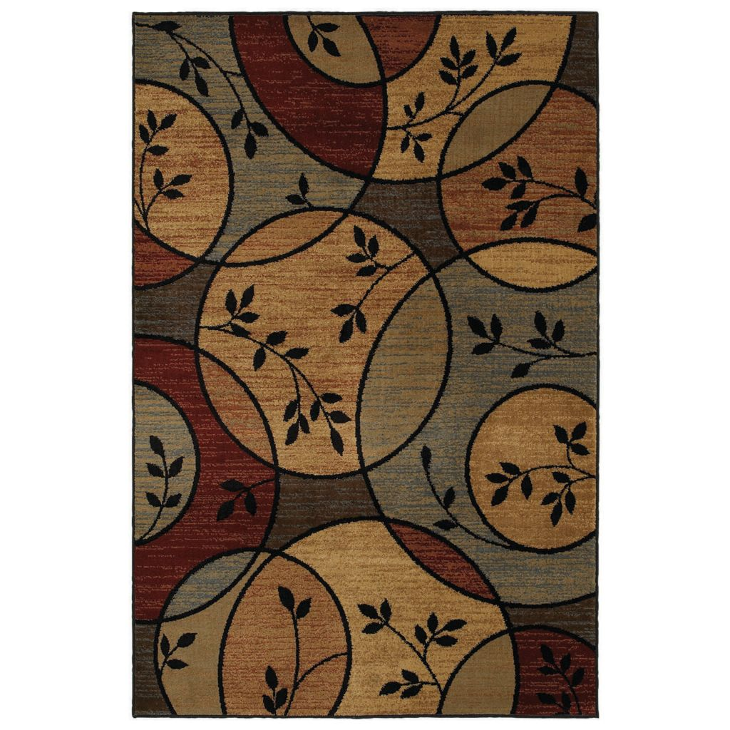 429-923 - Shaw Living™ Garden Circles Woven Rug Collection