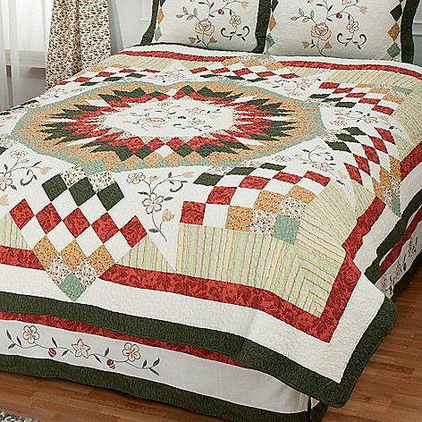 430-310 - North Shore™ Collectible Quilts ''Hayworth'' Limited Edition 100% Cotton Quilt