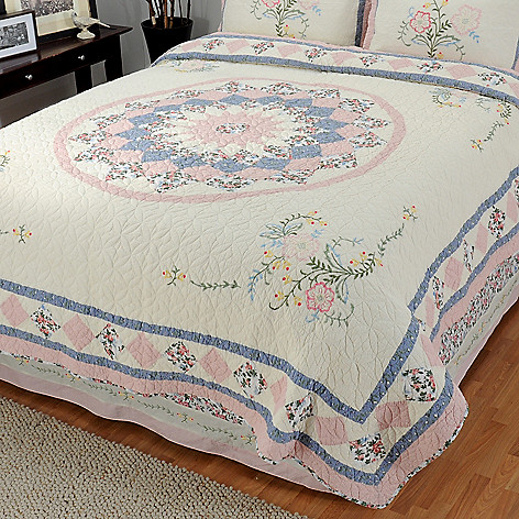 430-318 - North Shore™ Collectible Quilts ''Josie'' Limited Edition 100% Cotton Quilt