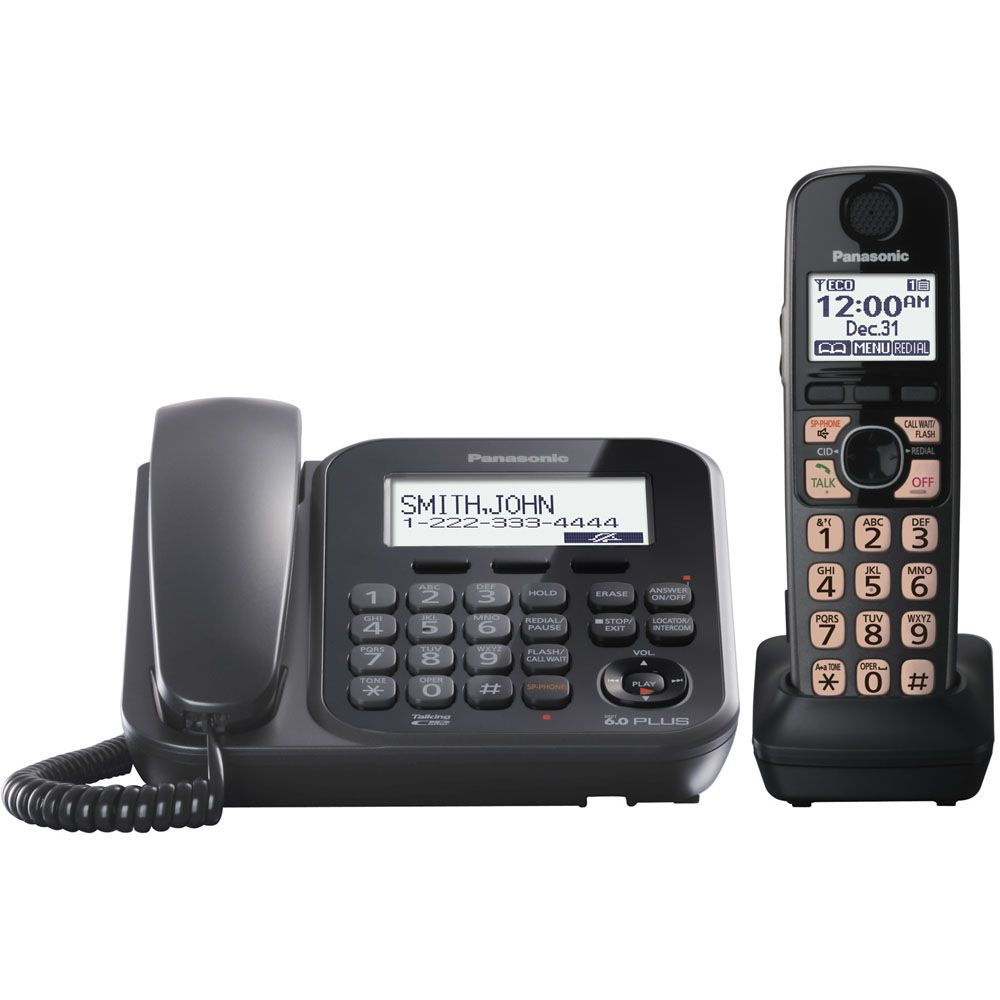 430-336 - Panasonic KX-TG4771B Expandable Digital Cordless Phone w/ One Handset