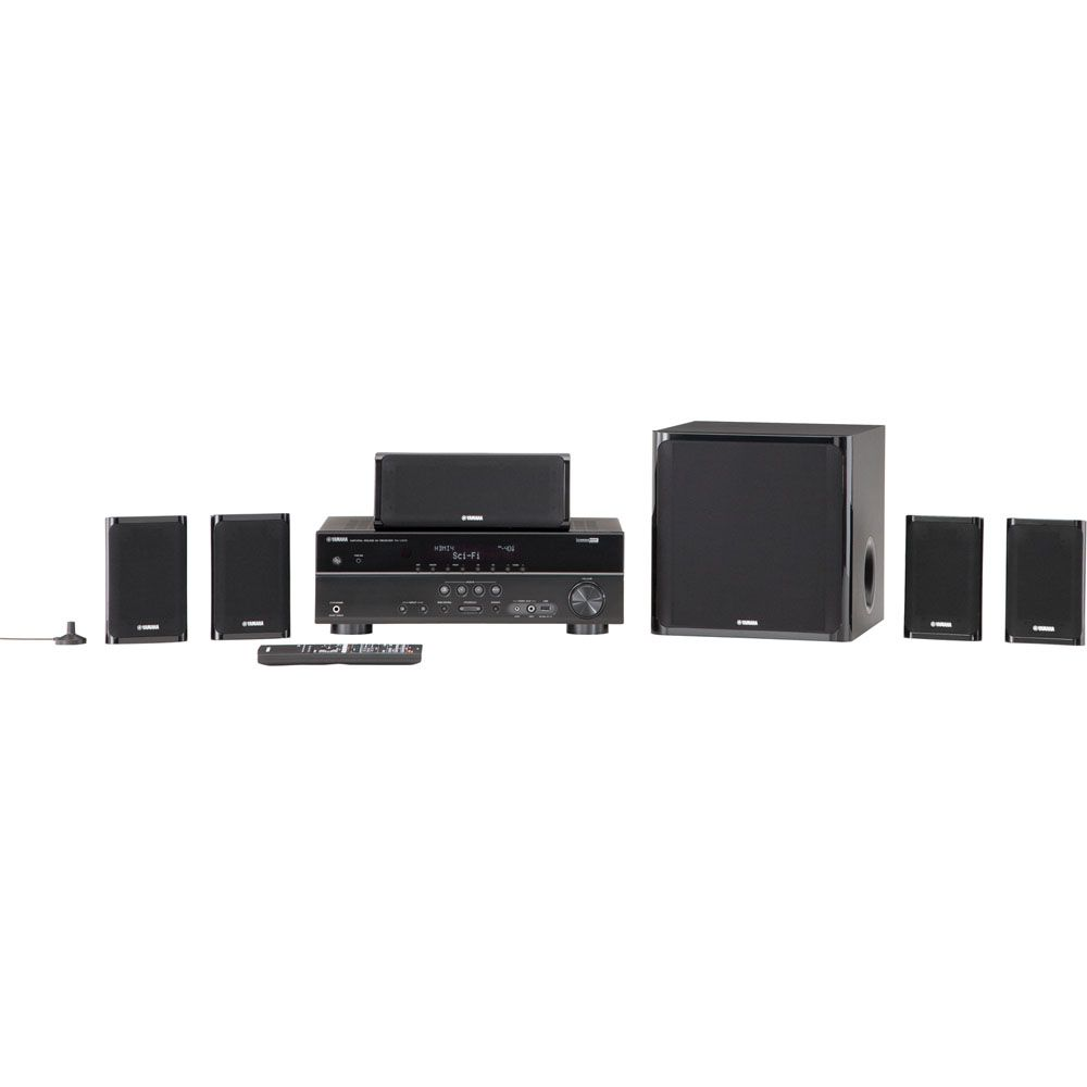 430-373 - Yamaha YHT-497BL 5.1 Channel Home Theater System