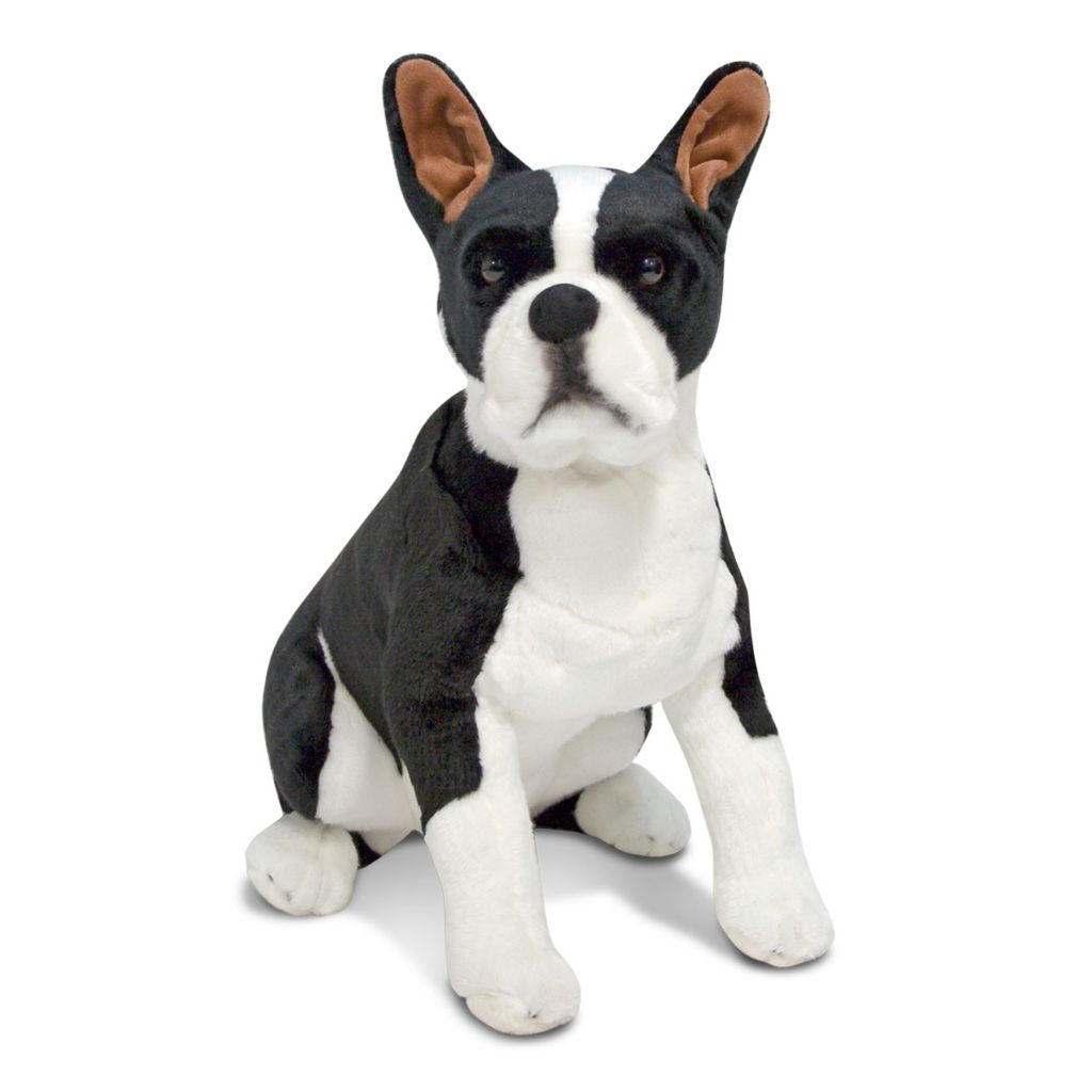 430-425 - Melissa & Doug® Plush Boston Terrier