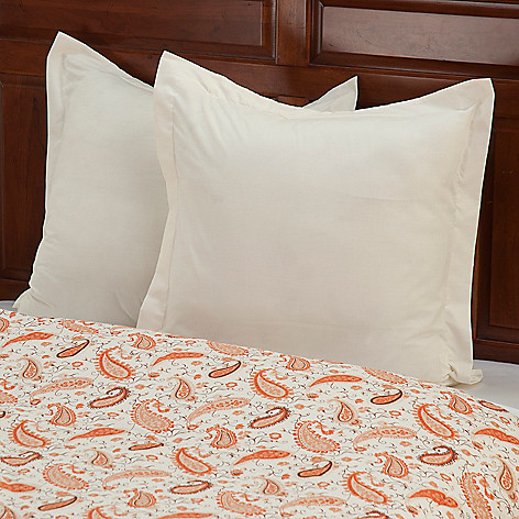 430-668 - European Made Luxury Euro Sham Pair