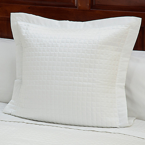 430-672 - 420TC Quilted Supima® Cotton Euro Sham