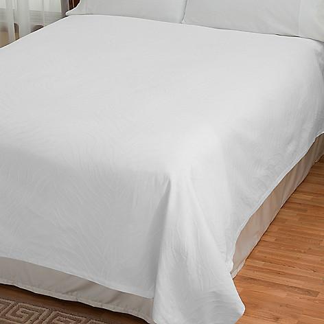 430-681 - Zebra Print Portuguese Matelasse Combed Cotton Coverlet