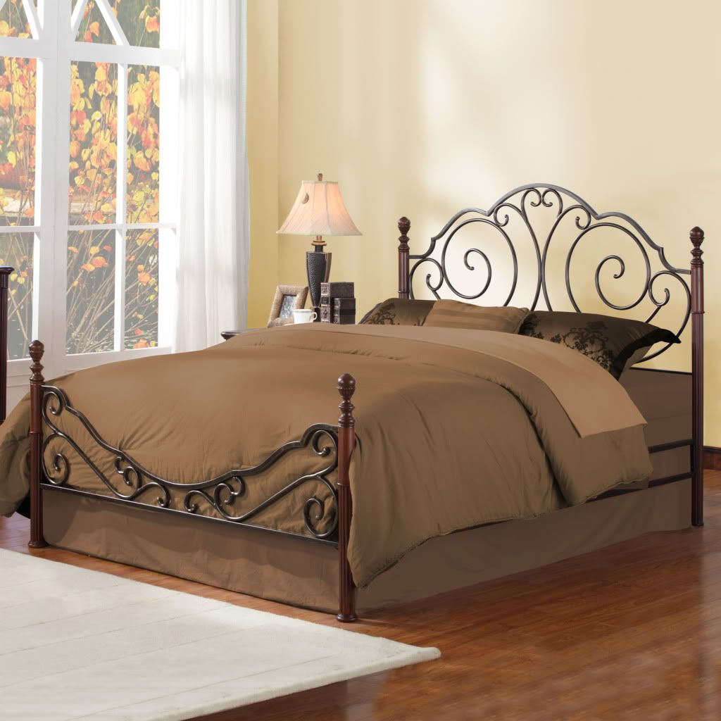 430-752 - Homebasica Metal Poster Bed