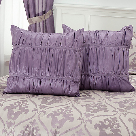 430-962 - North Shore Linens™ ''Christy'' Set of Two Euro Shams