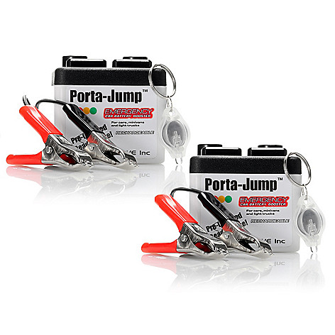 431-163 - Porta-Jump Set of Two Emergency Car Battery Boosters